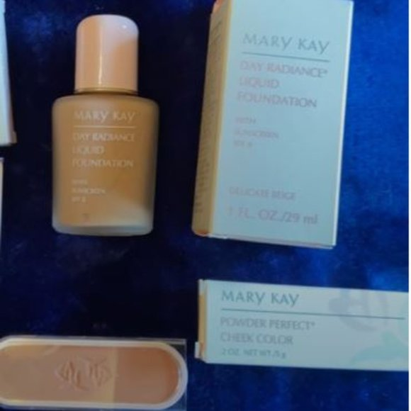 Mary Kay foundation and Cheek color
